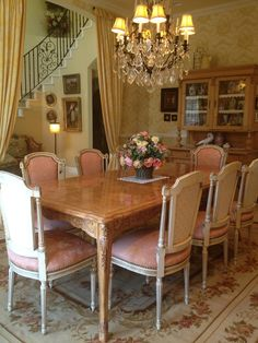 french dining rooms | French dining room | home