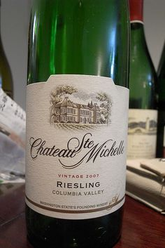 Chateau St. Michelle Riesling.  This is my fav wine. End of story. This stuff is fantastic.