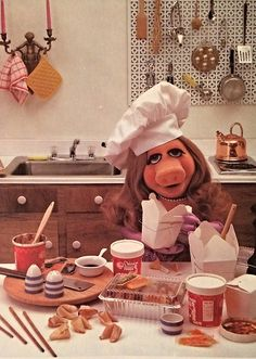 sweet-gherkins:  Miss Piggy's Guide to Life (1981)