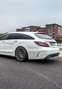 """onlysupercars: """"Shooting Brake - by Prior Design """" Mercedes Cls, Mercedes Benz Maybach, Merc Benz, Bmw Sport, Shooting Brake, Gt Cars, Fancy Cars, Luxury Cars, Dream Cars"""