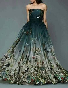 Wow evening gown ...literal
