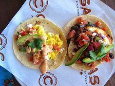Breakfast Tacos at C Casa in Napa