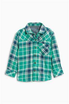 Long Sleeve Check Shirt (3mths-6yrs)