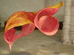 silk wind sculptures - Google Search