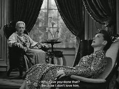 Gladys Cooper and Bette Davis in Now Voyager
