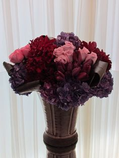 The Hidden Garden Floral Design - Rich Romance  <3 BERRY COLORS
