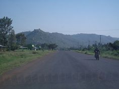 For some reason I cannot stop thinking about being in Kenya...this is a photo of the road out of Kisumu enroute to the village I stayed in October 2009.