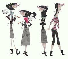 lineup1 by joshparpan ✤ || CHARACTER DESIGN REFERENCES | キャラクターデザイン |  • Find more at https://www.facebook.com/CharacterDesignReferences & http://www.pinterest.com/characterdesigh and learn how to draw: concept art, bandes dessinées, dessin animé, çizgi film #animation #banda #desenhada #toons #manga #BD #historieta #strip #settei #fumetti #anime #cartoni #animati #comics #cartoon from the art of Disney, Pixar, Studio Ghibli and more || ✤