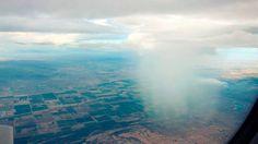 Como se ve lluvia, se ves desde un avión.   #DescubreUdever
