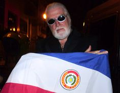 Jon Lord - Paraguay flag