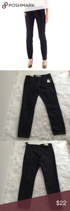 Joe Fresh Jeans Brand new dark wash slim cut ankle jeans. Super soft and stretchy. Sits low on waist, slim through the leg. Made with 64% cotton, 35% polyester, and 1% spandex. Joe Fresh Jeans