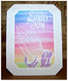 Ann Greenspan's Crafts: Rainbow Easter Joy