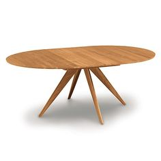 Catalina Round Extension Table, 48 Inches