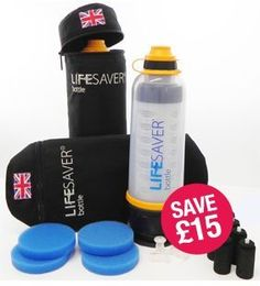 Lifesaver Bottle Excursion Kit for Two One Size *** To view further for this item, visit the image link.