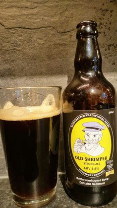 Southport Brewery Old Shrimper Strong Ale. Watch the video beer review here www.youtube.com/realaleguide   #CraftBeer #RealAle #Ale #Beer #BeerPorn #SouthportBrewery #OldShrimperStrongAle #OldShrimper #OldShrimperAle #SouthportOldShrimper #BritishCraftBeer #BritishBeer