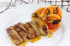 decorazione arance fase 5 contemporaneo food1 600x399 Decor Lezione N.1: Fette di arancia caramellate ed essiccate per piatti salati e dolci...