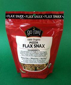 Go Raw Pizza Flax Snax.