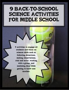 For many middle school science students, this will be their first year of having…