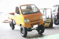 DA52 Suzuki Every, Light Truck, Baby Bike, Suzuki Jimny, Four Wheelers, Mini Trucks, Car Humor, Pickup Trucks, Custom Cars