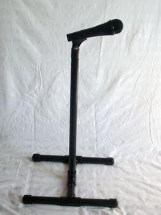 diy microphone stand out of pvc pipe