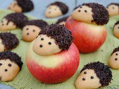 Ciastka jeżyki wg Jagi, zostaną na pewno zjedzone od ręki