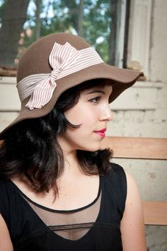 Brown Floppy Hat - Ladies Designer Hat for Winter 3758bc698ff