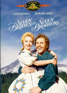 """Seven Brides for Seven Brothers - this is the kind of thang I mean (ish) re: """"prairie dress"""" In fact just watch Seven Brides in general BECAUSE IT'S FLIPPING MARVELLOUS / may be one of my favourite films"""