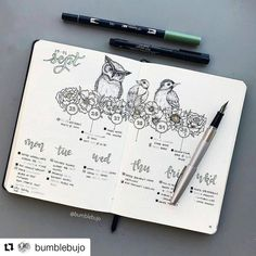 #Repost @bumblebujo (@get_repost) ・・・ While I recover from my food coma, here is a completed #weeklyspread from September. I really liked this layout, splitting my appointments and events from my daily tasks. I'm slowly posting all my completed weeklies, for those who like to see how my layouts are used . I hoped you all had a wonderful Christmas Day with all your loved ones . How did you spend your Christmas this year? . . . . #bulletjournal #bujoweekly #bujoweeklyspread #tombowusa #pil...