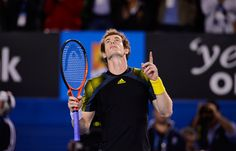 Andy #Murray through to the men's final. #tennis #ausopen