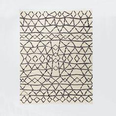Torres Wool Kilim - Iron West Elm