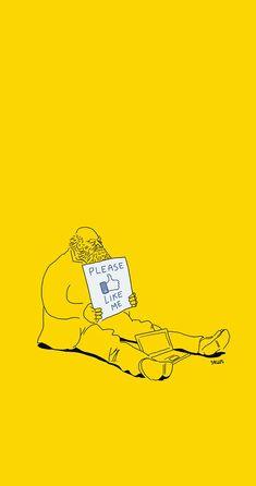 cynical illustration