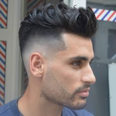 45 Cool Men's Hairstyles 2017 http://www.menshairstyletrends.com/45-cool-mens-hairstyles-2017/ #menshair #menshairstyles #menshairstyles2017 #coolmenshair #haircut #fade #taper