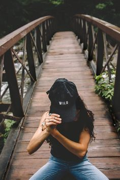 The Parks Wild Dad Hat – Black-The Parks Apparel