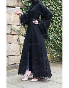 What's New - Abayas Boutique kimono outfit kimono outfit ideas kimono out. Modern Hijab Fashion, Muslim Women Fashion, Arab Fashion, Hijab Fashion Inspiration, Islamic Fashion, Kimono Fashion, Fashion Dresses, Kimono Outfit, Mens Fashion