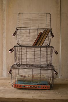 03-07-2016 wire baskets for office storage items.