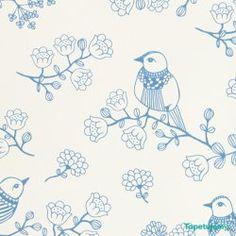 Tapeta Majvillan Sugar tree 106-01 Lovely blue