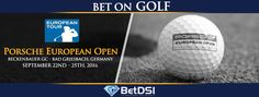 The 2016 Porsche European Open will take place at the Beckenbauer Golf Course in Bad Griesbach, Germany from September through September Golf Events, Golf Betting, European Tour, Golf Ball, Porsche, Golf Courses, Tours, Sports, Hs Sports