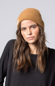 """This classic waffle knit beanie is perfect for the cooler weather. With the embroidered logo tag that says """"Hand-Signed Products Made By People Around the Globe"""" it shows your commitment to knowing who makes the products you wear. Knit Beanie, Beanie Hats, Changing Jobs, Kids Hats, Waffle Knit, Fair Trade, How To Introduce Yourself, My Style, Lady"""