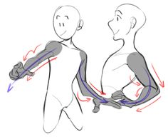 Drawing Tutorials - do you have any advice or tips for drawing arms T_T for some reason i can never make mine look, idk, natural? and yours are always so flowy and nice ! Drawing Tutorials, Drawing Techniques, Drawing Tips, Art Tutorials, Drawing Base, Figure Drawing, Art Sketches, Art Drawings, Poses References