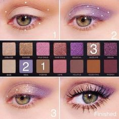 Gorgeous Makeup: Tips and Tricks With Eye Makeup and Eyeshadow – Makeup Design Ideas Makeup Eye Looks, Eye Makeup Steps, Eyeshadow Looks, Eyeshadow Makeup, Eyeshadow Steps, Summer Eyeshadow, Eyeshadow Palette, Makeup Hacks, Makeup Inspo