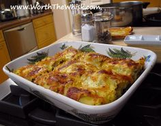 Lasagna with Mushrooms and Goat Cheese | Mushroom Info