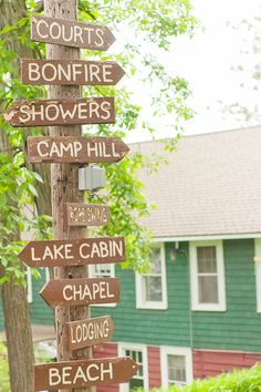 A Sort Of Fairytale: Summer Camp & Cottage Camping Signs, Camping Life, Lakeside Living, Outdoor Living, Vashon Island, Camp Hill, Summer Cabins, Lake Cabins, Lake Cottage