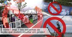 Jogar lixo no dia anterior pode dar cadeia? Veja 7 leis estranhas que podem resultar em prisão no Japão!