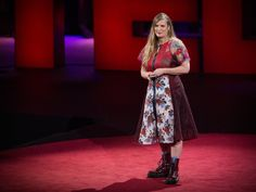 "The beauty of being a misfit | Lidia Yuknavitch  To those who feel like they don't belong: there is beauty in being a misfit. Author Lidia Yuknavitch shares her own wayward journey in an intimate recollection of patchwork stories about loss, shame and the slow process of self-acceptance. ""Even at the moment of your failure, you are beautiful,"" she says. ""You don't know it yet, but you have the ability to reinvent yourself endlessly. That's your beauty.""  https://download.ted.com/ta.."
