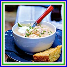 White Chili Recipe - Digital Delivery - {49 Credits the Recipe Could be yours}