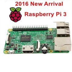 Elecrow Raspberry Pi 3 Model B 1GB RAM Quad Core 1.2GHz 64bit CPU Ras PI3 B PI 3B PI 3 B with WiFi Bluetooth Element14