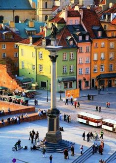 Warsaw, Poland- This is a definite, maybe 2015. Have an open invite. So many beautiful places in Poland.