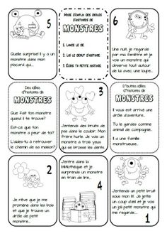 French Teaching Resources, Teaching French, Writing A Book, Writing Prompts, French Practice, Education And Literacy, Core French, French Classroom, French Immersion