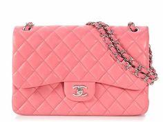 Lambskin Leather, Calf Leather, Leather Wallet, Orange Leather, Black Leather, Chanel Jumbo, Pink Quilts, Vintage Monogram, Vintage Purses