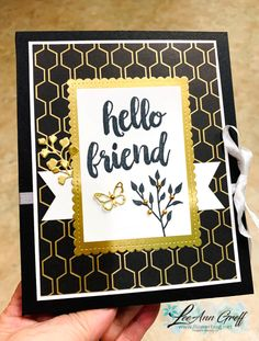 Seriously the Best Cards with Golden Honey Folio gift pouch & video (Flowerbug's Inkspot) - Herzlich willkommen Paypal Gift Card, Golden Honey, Bee Cards, Friendship Cards, Stamping Up Cards, Butterfly Cards, Mothers Day Cards, Card Sketches, Paper Cards